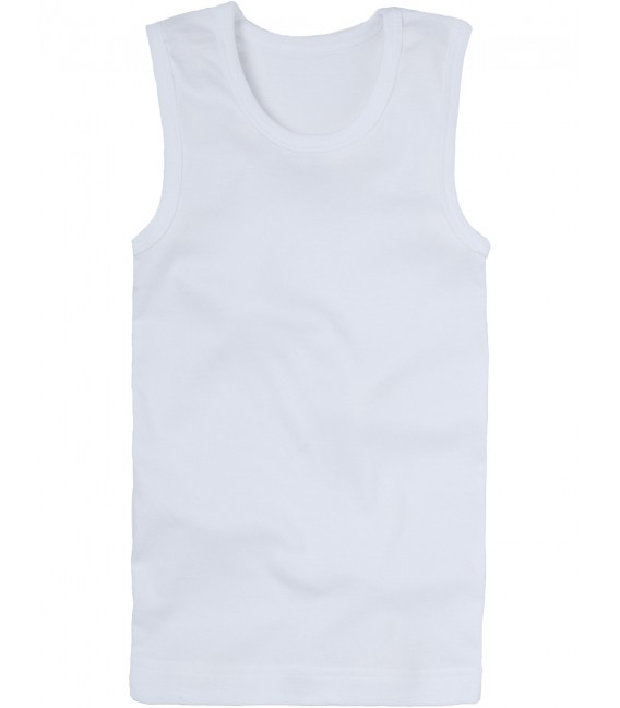 Marquise Kids Cotton Singlet 'Natural' Size 2, 3, 4, 5, 6 yrs