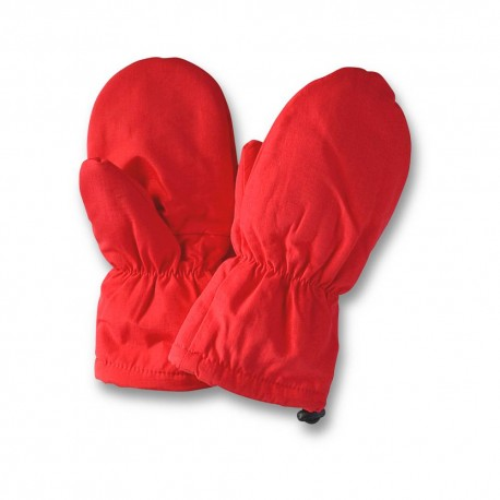 Muddy Puddles Kids Waterproof Fleece Mittens 'Red' 4-5, 6+yrs