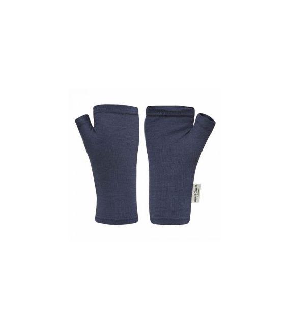 Sweet Cheeks Merino Fingerless Gloves 'Red' 1-2, 3-4, 5-8+yrs