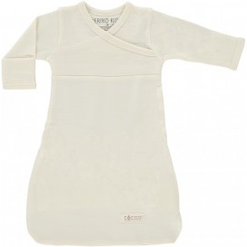 Merino Kids - Cocooi Newborn Merino Sleep Gown - Cream 0-3mths
