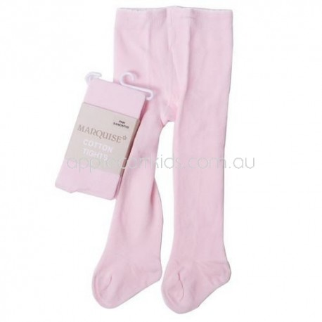 Marquise Knitted Cotton Tights 'Pink'