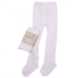 Marquise Knitted Cotton Tights 'White'