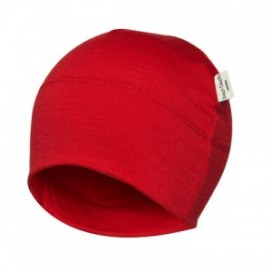 Sweet Cheeks Merino Kids Beanie 'Red' 0-7yrs