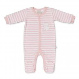 Marquise Winter Terry Studsuit - Pink Kitty Cat