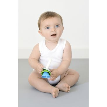 Marquise - 2pk Sleeveless Bodysuits - White