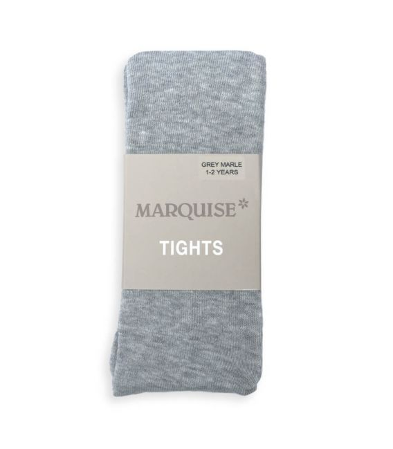 Marquise Cotton Tights 'Grey Marle'