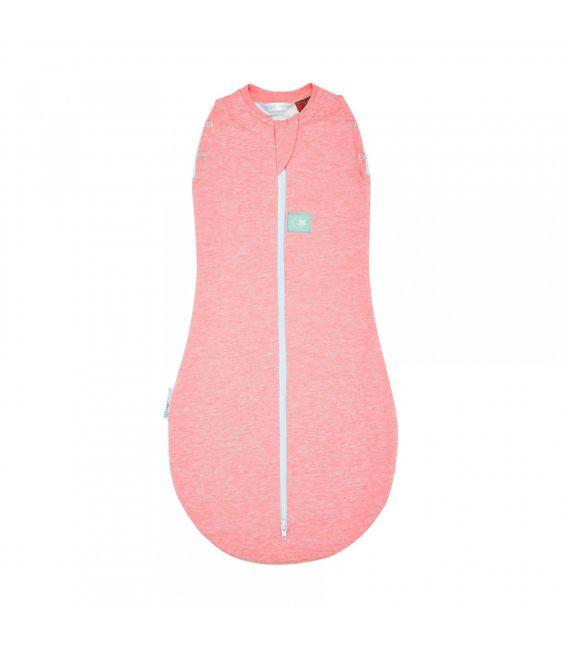 ergoCocoon 1 TOG Organic / Bamboo Swaddle + Sleep Bag (Rhubarb)