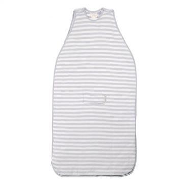 Woolbabe 3 Seasons Baby Sleeping Bag - Side-Zip (NEW Pebble)