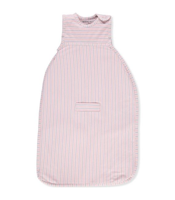Merino Kids Go Go Sleeping Bag - Standard Weight (NEW Pink/Grey Stripe)