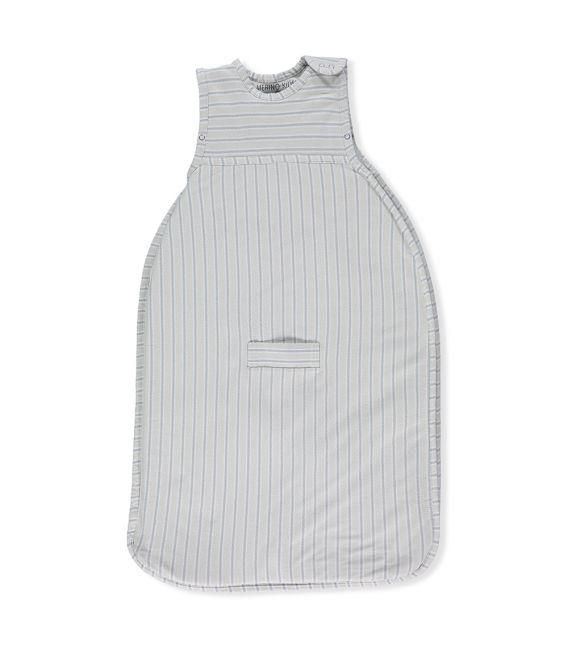 Merino Kids Go Go Sleeping Bag - Standard Weight (NEW Light Green/Grey Stripe)