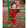 Muddy Puddles Waterproof All-in-One Splashsuit - Red