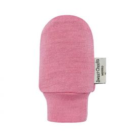 Sweet Cheeks Merino Fingerless Gloves (Pink)