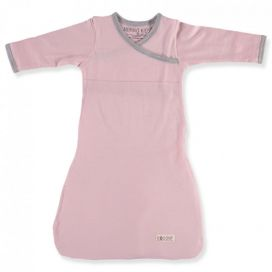 Merino Kids - Cocooi Baby Merino Sleep Gown (NEW Aoraki Pink/Grey)