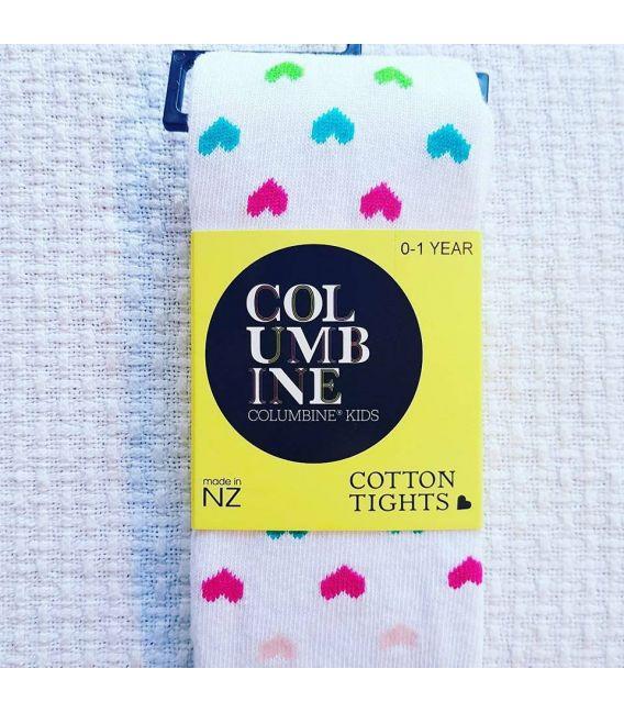 Columbine Cotton Tight (Rainbow Lovehearts)