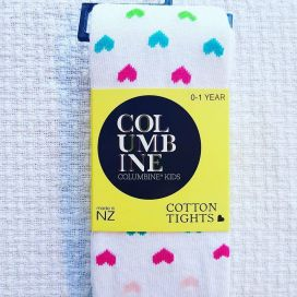 Columbine Cotton Tight (Rainbow Lovehearts)