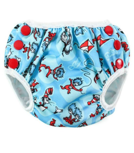 Bumkins Swim Nappy - Cat in the Hat