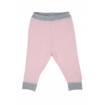 Merino Kids Lightweight Leggings (Pink)