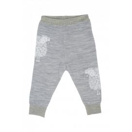 Merino Kids Lightweight Leggings (Grey)