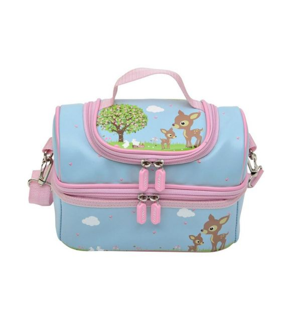Bobble Art Large Lunch Box - Woodland Animals
