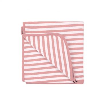 Woolbabe Merino/Organic Cotton Swabble Blanket - (Dusk)