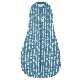 ergoCocoon 0.2 TOG Swaddle + Sleepbag (Midnight Arrows)