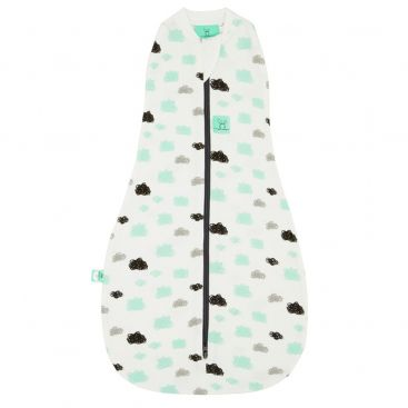 ergoCocoon 1.0 TOG Swaddle + Sleep Bag (Clouds)