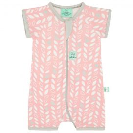 ergoLayers 0.2 TOG Short Sleeve Sleep Wear (Spring leaves)