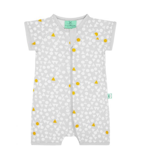 ergoLayers 0.2 TOG Short Sleeve Sleep Wear (Triangle Pops)