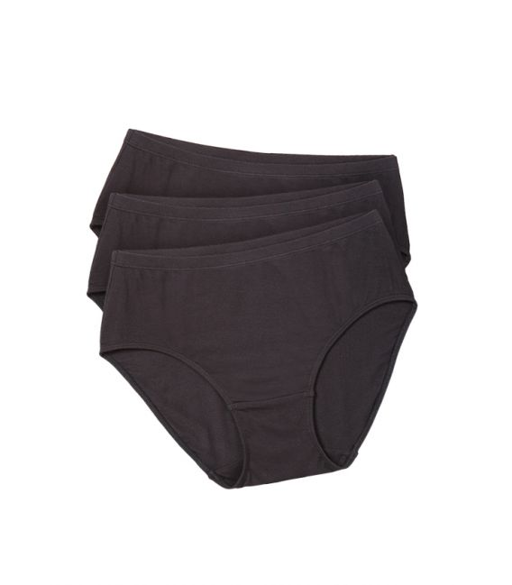 Bamboo Body Womens Classic Brief - Black