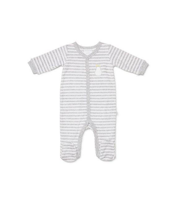 Marquise Terry Toweling Pear Studsuit