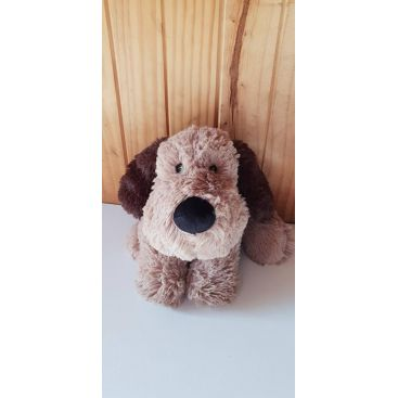 Cozy Plush 'Brown Puppy' Kids Heat Pack