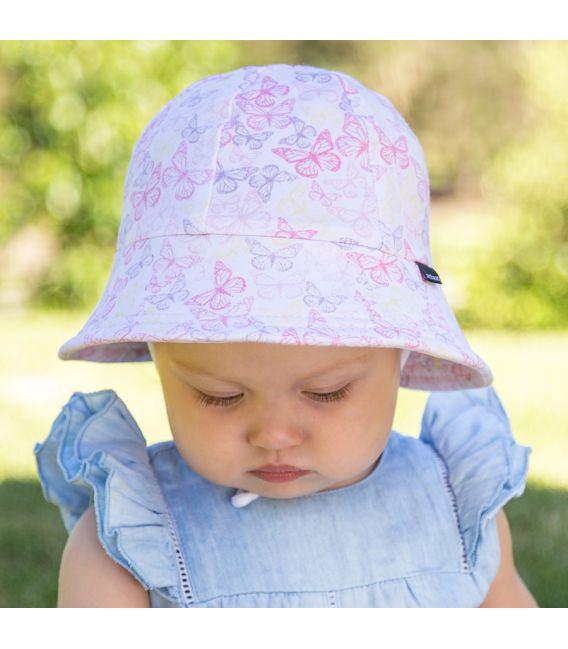 Bedhead Girls Baby Bucket Hat - Butterfly - Applecart Kids a0bae47363e