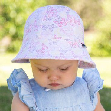 e08cf5ef70a36 Bedhead Girls Baby Bucket Hat - Butterfly - Applecart Kids
