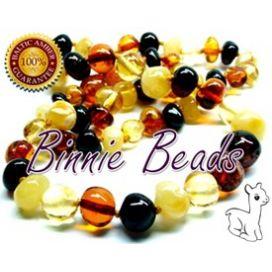 Binnie Beads Teething Necklace - Multimix