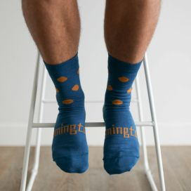 Lamington Merino Wool Mens Crew Socks