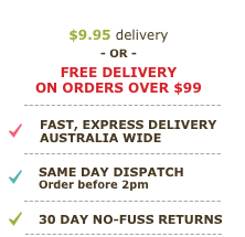 Free delivery Australia wide - orders over $99
