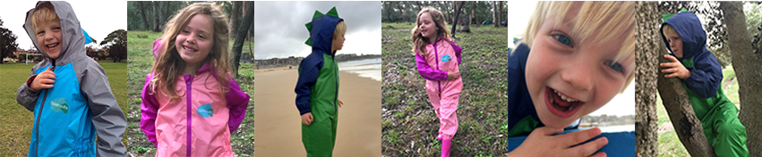 Splashsuits - Kids Rainwear - Kids Waterproofs - Applecart Kids Australia