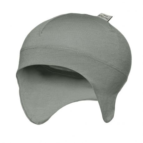 Sweet Cheeks Merino Snug Beanie with Ear Flaps 'Grey'