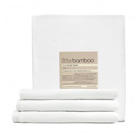 LITTLE BAMBOO - BAMBOO FITTED (COT) SHEET