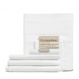 Little Bamboo - Bamboo Fitted + Flat (Bassinet) Sheet Set