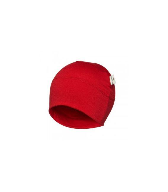 Sweet Cheeks Merino Kids Beanie 'Red' 0-7yrs