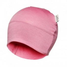 Sweet Cheeks Merino Kids Beanie 'Pink' 0-7yrs
