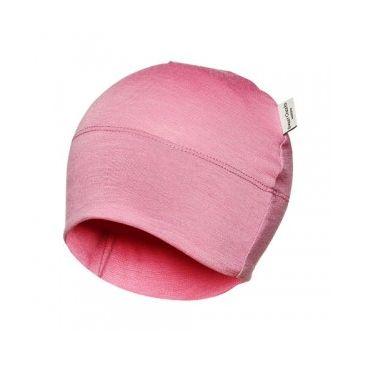 Sweet Cheeks Merino Kids Beanie 'Pink' 0-7yrs