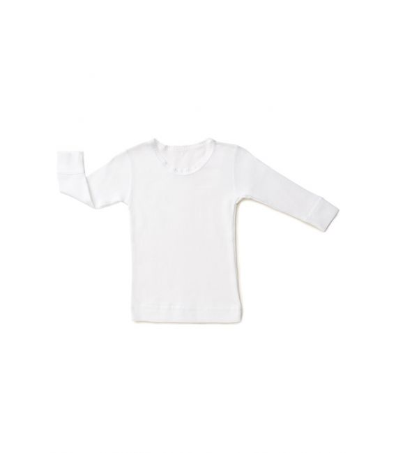 Marquise Long Sleeve Lace Cotton Spencer 'White'