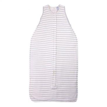 Woolbabe Duvet Baby Sleeping Bag - Front-Zip (NEW Pebble)