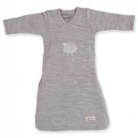 Merino Kids - Cocooi Baby Merino Sleep Gown (NEW Grey Sheep)