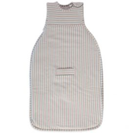 Merino Kids Go Go Sleeping Bag - Duvet Weight (Light Pink/Light Grey)