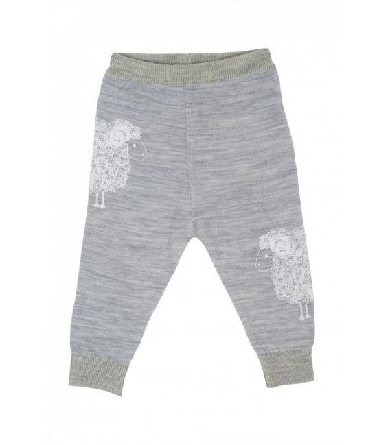 Merino Kids Lightweight Leggings (Grey)