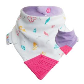 Becalm Baby Teething Bib - Butterfly
