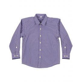 Korango Autumn Cool & Classy Shirt - Navy Check